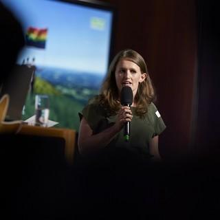Bundesjugendleiterin und DAV-Vizepräsidentin Sunnyi Mews. Foto: DAV/Henning Schacht