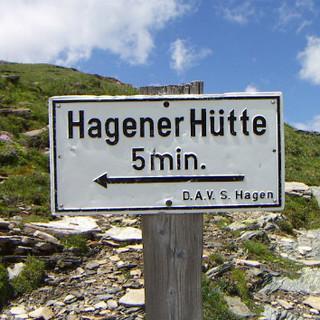 Hagener Hütte Start