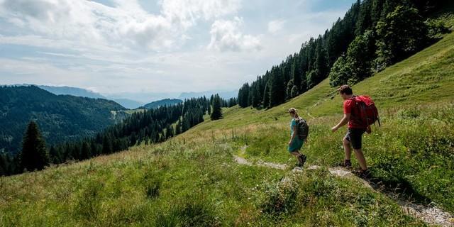 Bergwandern, Foto: DAV/Hans Herbig