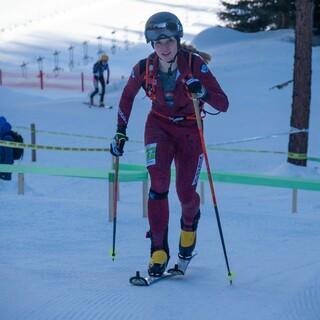 Tatjana Paller wurde 9. beim Sprint im Val Martello  - Foto: Nils Lang