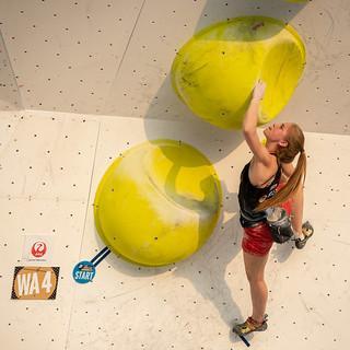 Hannah Meul. Foto: IFSC/Eddie Fowke