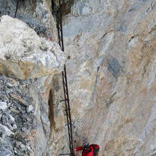 Leitersteigen: Drum prüfe, wer sich bindet!