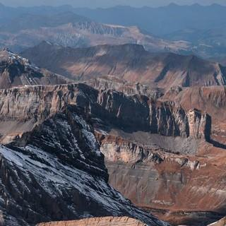 Nicht der Grand Canyon, nicht die Schöpfungsgeschichte: Berner Alpenwelt beim Balmhorn, Foto: Ralf Gantzhorn
