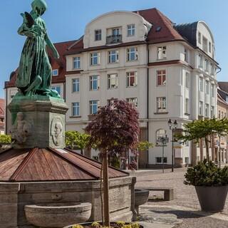 Pittoreske Stadtbilder prägen viele Orte im Leipziger Umland. Foto: DAV/Ingo Röger