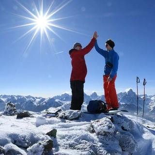 Mit der Hochrast ist der erste Gipfel geschafft. Foto. Stefan Herbke