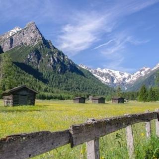 Bergsteigerdorf Gschnitztal - Lahnwiesen. Foto: TVB Wipptal