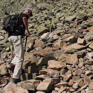 Prestholtskarvet: Unauffällig passt sich die Sherpatreppe der Umgebung an. Foto: Antes & Antes