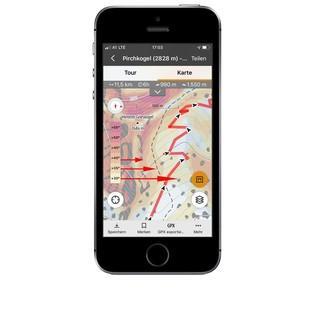 Hangsteilheit mit dem Smartphone messen
