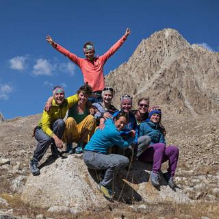 Team 2016 in Tadschikistan, Foto: Dörte Pietron