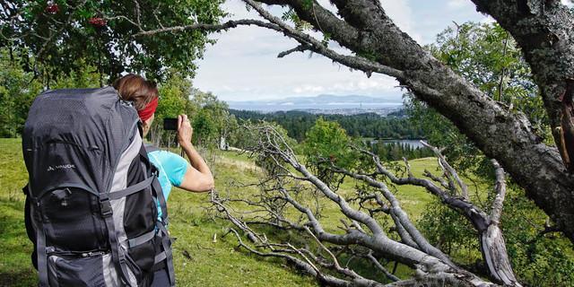 Der erste Blick auf Trondheim begeistert – und macht wehmütig. Foto: Joachim Chwaszcza
