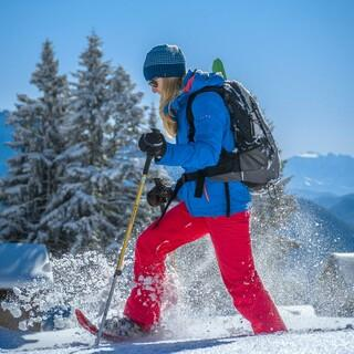 Mehrere Kleidungsschichten sind im Winter genau das Richtige. Foto: DAV/Silvan Metz