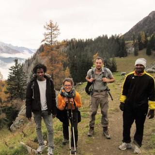 Alpen-Leben-Menschen-Projekt