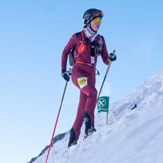 Sophia Weßling (U20 Damen) wird 7. beim ISMF Individual Weltcup im Martelltal - Foto: Nils Lang