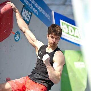 Jan Hojer ist für hoch motiviert für die Olympischen Spiele. Foto: DAV/Vertical Axis