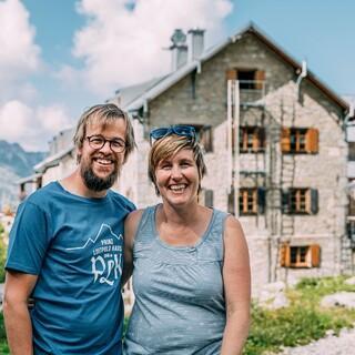 Ulli und Christoph Erd bewirtschaften das Prinz-Luitpold-Haus seit 2019, Foto: Martin Erd
