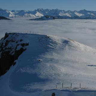 Oberhalb des Nebelmeers
