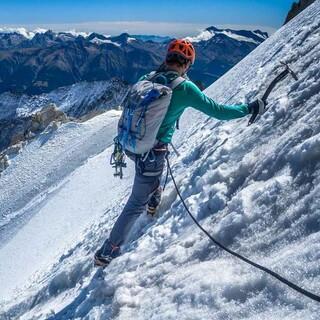 Hochtour mit Steigeisen und Eispickel, Foto: DAV/Silvan Metz
