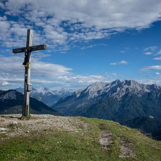 Am Gipfel des Fellhorns, Foto: Axel Klemmer