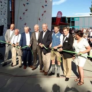 Feierliche Übergabe der neuen Sportstätte in Augsburg, Foto: LLZ Bayern