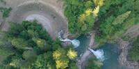 Die Buchenegger Wasserfälle bei Oberstaufen laden zum Verweilen und Staunen ein. Foto: Thorsten Brönner