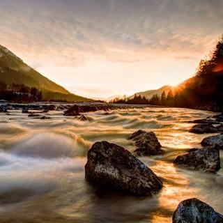 Flusslandschaft Christoph Elsinger
