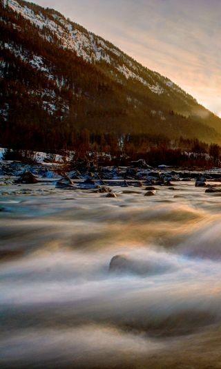 Flusslandschaft, Foto: Christoph Elsinger