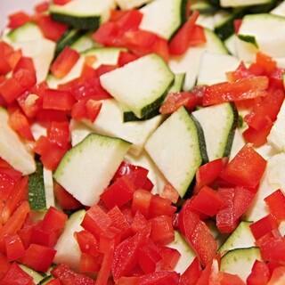 Kleingeschnittenes Gemüse, Foto: pixabay