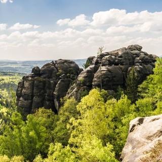 Landschaft Sächsische Schweiz