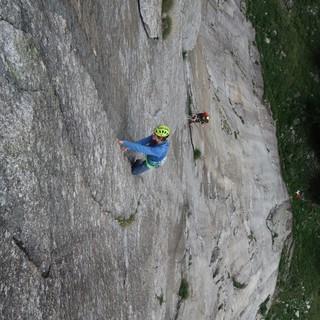 Auch in der Schöllenenschlucht lockt schöner Granit. Foto: Fritz Miller