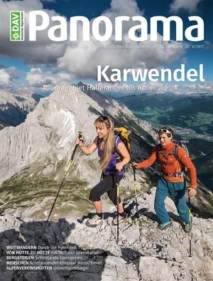 DAV-Panorama-4-2017-Titel-Karwendel