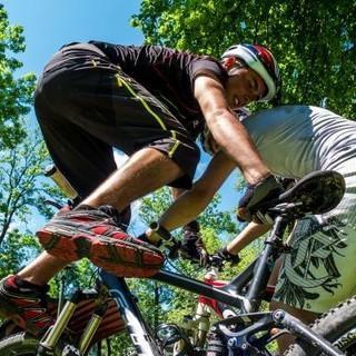 Technikübung auf dem Bike. Foto: Felix Meßerer