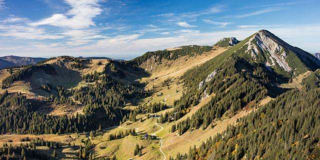 Bergsteigerdörfer Schleching und Sachrang: der Geigelstein als verbindendes Element (Foto: Jörg Bodenbender)