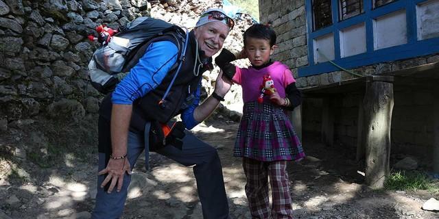Besonderer Moment in Nepal, Foto: Brigitte Baltes