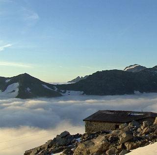 Neue Prager Hütte - Neue Prager Hütte; Photo: Claudia Studer