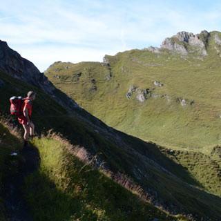 Imbachhorn - Das Imbachhorn über dem Brandlsee bietet eine Gipfeloption für den letzten Tag.