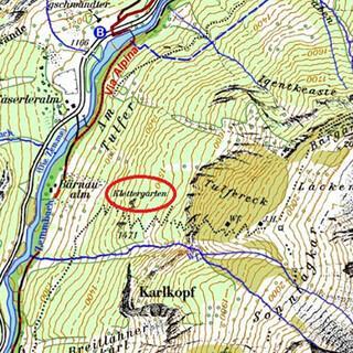 Die aktuelle Darstellung eines Klettergartens im Zillertal. Quelle: DAV