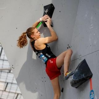 Alma Bestvater im Münchner Olympiapark. Foto: DAV/Marco Kost