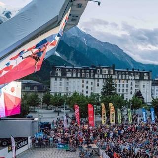 Leadweltcup am Fuße des Mont Blanc, Foto: IFSC/Eddie Fowke