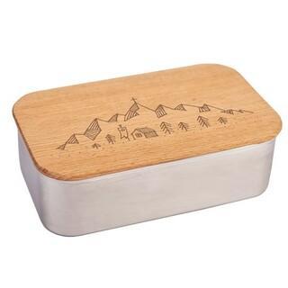 Die Brotzeitbox ist nicht nur praktisch, sondern auch ein richtiger Hingucker. Foto: DAV-Shop
