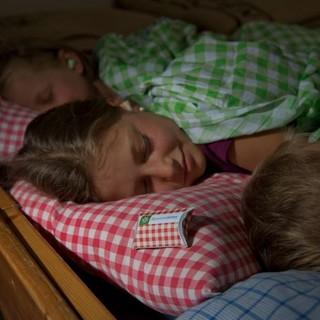Süße Träume im Lager dank Oropax. Foto: DAV/Thilo Brunner
