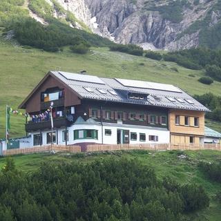 Das Solsteinhaus im Karwendel, Foto: Robert Fankhauser