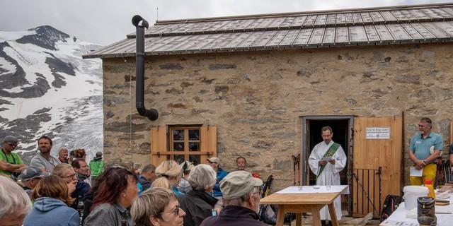 Eröffnungsfeier und feierliche Einweihung der Alten Prager Hütte, Foto Fabian Dalpiaz
