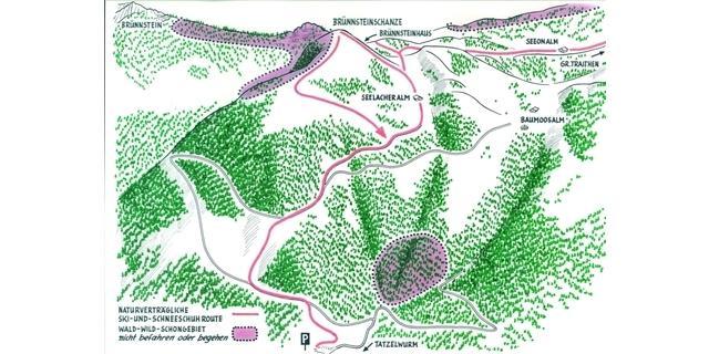Natürlich auf Tour: Brünnsteinschanze