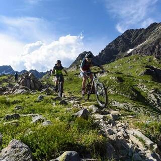 Mountainbiken als Bergsportart. Foto: DAV/Wolfgang Ehn