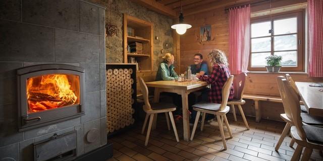 Gaststube, Fotocredit: DAV/ Jens Klatt