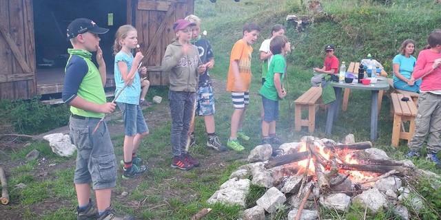 "Lagerfeuer beim Jugendkurs ""Wassersafari, Foto: JDAV/Bärbel Nuss"