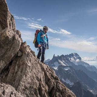 Auf allen 4.000ern der Alpen stehen: Marlies Czerny und Andreas Lattner berichten von Ihrem Traum und wie sie sich ihn erfüllten. Foto: Marlies Czerny und Andreas Lattner