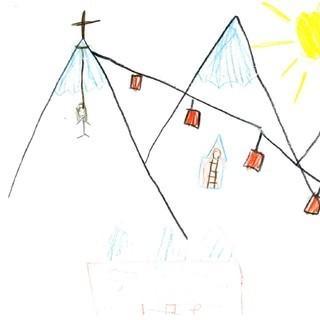 Zeichnungen Berggefühle