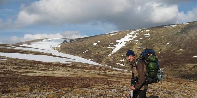 Durch die Cairngorm Mountains in Schottland, Foto: Hubertus Stumpf