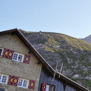 Das Württemberger Haus in den Lechtaler Alpen. Foto: Mirjam Schultes